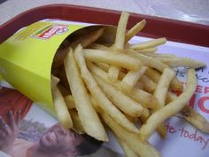 GrubGrade | Fast Food Review: NEW! Wendy's Natural Cut Fries with Sea Salt