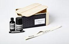 packaging Aesop