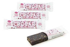 Raspberry, Cacao & Cricket Flour CROBAR – 30 g – Box of 20 | Crobar by Gathrfoods