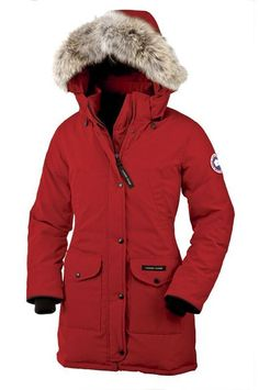 Canada Goose Outlet Trillium Parka Women Red With Highly Recommend - $314.78
