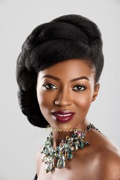 Dionne Smith Natural Hair Inspiration - Bellanaija - - Nigeria breaking & top news to the World Read Today Natural Hair Twist Out, Natural Hair Updo, Natural Hair Styles, Black Girls Hairstyles, African Hairstyles, Afro Hairstyles, Hairstyles 2016, Wedding Hairstyles, Black Haircut Styles