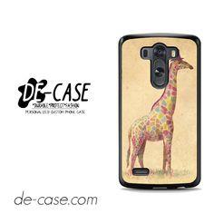 Fancy Giraffe Art For LG G3 Case Phone Case Gift Present YO