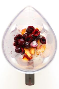 Cherry Limeade Smoothie | Minimalist Baker Recipes