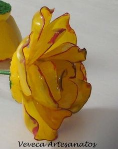 How to make roses from a Plastic Bottle!