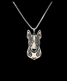 Bull Terrier Stainless Steel Necklace