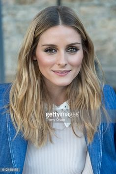 Olivia Palermo attends the Paul Joe show as part of the Paris Fashion Week Womenswear Spring/Summer 2017 on October 4 2016 in Paris France
