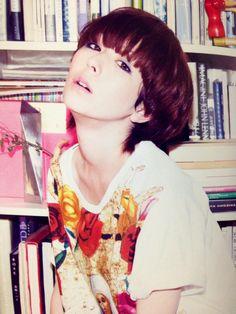 #Kaela Kimura #NYLON 2 Hair Designs, Short Hair Styles, Cherry, Idol, Make Up, Style Inspiration, Japan, Female, Disney Princess