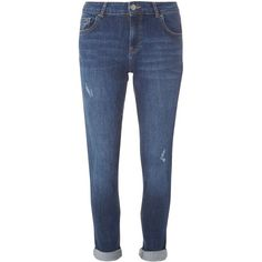 Dorothy Perkins Summer Blue Corey - Boyfriend jeans (860 MXN) ❤ liked on Polyvore featuring jeans, pants, blue, blue boyfriend jeans, dorothy perkins, boyfriend fit jeans, boyfriend jeans and dorothy perkins jeans
