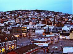 dawn, Harstad, Norway