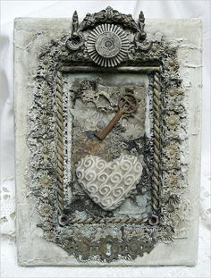 Shabby Chic Inspired: collage