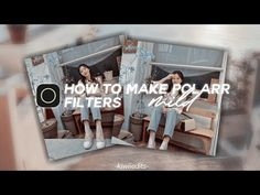 💫 how to make polarr filters | tutorial #5 - YouTube Filters, Youtube, Books, How To Make, Livros, Livres, Book, Libri, Libros