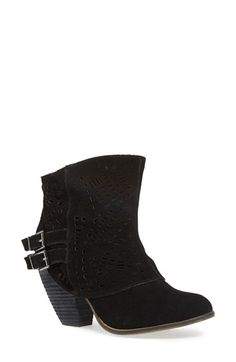 Naughty Monkey 'Love Story' Cutout Bootie | Nordstrom