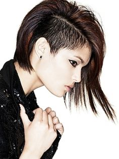 #under cut hair cut