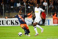 Bryan Dabo / Abdoul Camara - 08.08.2015 - Montpellier / Angers - 1er journee de Ligue 1