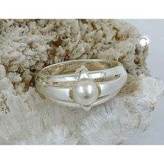 #rings with flat #pearl    #smykker