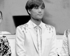 EXO   EXO-K   Kim Jong In ❤ (kai)   google.com - I'm curious as to what scared him!!!  LOL!!!