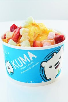Kuma Snow Cream--Nothing beats the heat like a perfect cold treat! A light and fluffy mix between a snow cone and ice cream, Kuma is insanely addictive. We opted for the playfully delicious Mangozilla, topped with strawberries, crunchy cereal, and sweet mango sauce. Choose from five delicious combos or get crazy and build your own.Kuma Snow Cream, 3735 Spring Mountain Road (at South Valley View Boulevard); 702-816-5862.