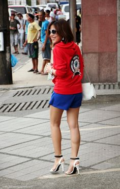 Fashion Eggplant: keep watch! 4th of july outfit