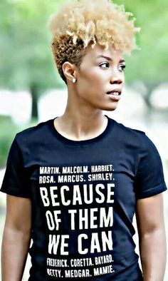 Black history shirt love