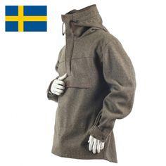 Jagdanorak - Militär-Loden - Made in Sweden L (54/56)