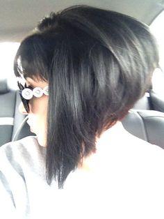 Strange Sleek A Line Bob I Like Her Hair And Make Up Makeup Pinterest Hairstyles For Women Draintrainus