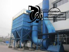 Xianrun Blower centrifugal fan, www.lxrfan.com, xrblower@gmail.com   Dust removal principle: the centrifugal fans of gravitational dust collector reduce gas speed and change flow direction suddenly; larger dust particles separate from gas under the function of gravity and inertia force; settle to the dust collector cone bottom.