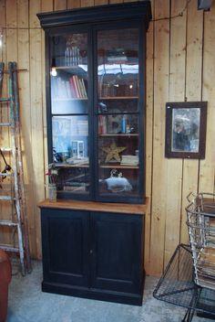 Ancienne bibliothéque en bois - Début XXéme - par le Marchand d'Oublis