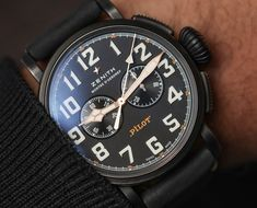 Zenith Pilot Type 20 Ton-Up Black Chronograph Hands-On