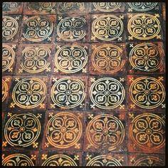 Floor tiles, Westmin