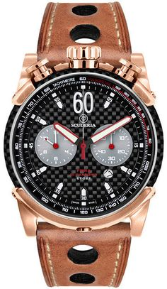 CT Scuderia Watch Fibra Di Carbonio Chronograph Watch available to buy online from with free UK delivery. Sport Watches, Cool Watches, Watches For Men, Bracelet Cuir, Beautiful Watches, Luxury Watches, Fashion Watches, Chronograph, Mens Fashion