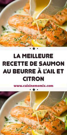 Cuisine Diverse, Filets, Saveur, Salmon Recipes, Seafood, Vitamins, Brunch, Menu, Important