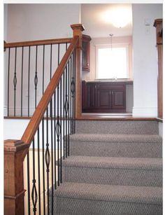 Split level home, upper stairs