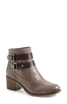 Franco Sarto 'Linden' Leather Bootie (Nordstrom Exclusive) leather/synthetic grey, black, tobacco 4.5sh 2h sz7.5 149.95
