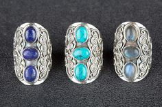 Other – Lot Of 3 Sterling Silver Wholesale Rings WBJR-511 – a unique product by…