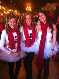 The Perfect Halloween Costumes for Sorority Sisters - PagebyPaige. - Snow-women