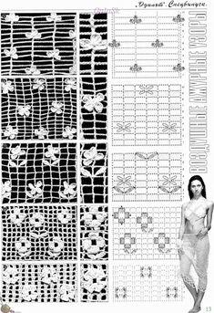 ideas for crochet lace bracelet ganchillo Crochet Diagram, Crochet Chart, Filet Crochet, Crochet Motif, Diy Crochet, Crochet Flowers, Russian Crochet, Irish Crochet, Crochet Shoes