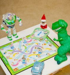 Game night for the ELF and his buddies!