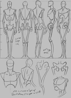 Step by Step drawing lessons Anatomy. Hacks and Tips Body Reference Drawing, Human Figure Drawing, Body Drawing, Art Reference Poses, Anatomy Reference, Hand Reference, Cartoon Drawings, Pencil Drawings, Art Drawings