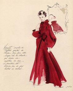 Madeleine Vionnet - Illustration - 1935