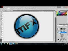 How To Make A Glossy Orb - PhotoShop CS5.1 Tutorial - YouTube