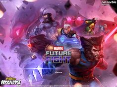 """""""Marvel Future Fight"""" Enters the Age of Apocalypse Marvel Fight, Marvel Future Fight, Marvel Dc Comics, Marvel Heroes, Marvel Characters, X Men, Comic Art, Comic Books, Bleach Anime"""