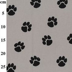 JLC0456-GREY-cm Cotton Canvas, Canvas Fabric, Cotton Fabric, Canvas Prints, Dog Paws, Curtain Fabric, Fabric Material, Fabric Crafts, Kids Rugs