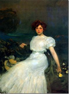 ramon casas i carbo_Retrato de la señora Baladia
