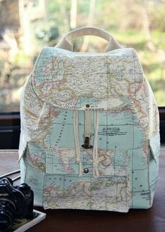 World Map Prints Backpack/Large Backpack/Travel,School,Daily Backpack/Unisex Rucksack /Earth / from leyyabags on Etsy. Saved to Backpacks. Mk Handbags, Handbags Michael Kors, Purses And Handbags, Michael Kors Bag, Mochila Jansport, Accesorios Casual, Cheap Michael Kors, Cute Backpacks, Girl Backpacks