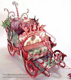 Sizzix: Die Cutting Inspiration and Tips: Die Cutting Paper: Filigree Reindeer Sleigh