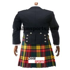 WAISTCOAT VEST 5 BUTTON IRISH SPIRIT TARTAN© A tribute to Ireland