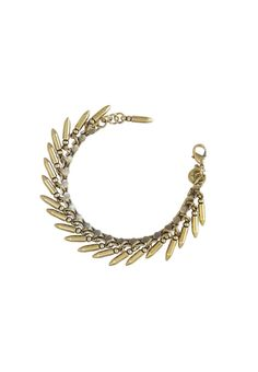 BULLET BRACELET IN BRASS - Loren Hope