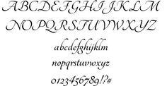 kaligrafické fonty - Hledat Googlem