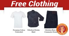 Free Clothing for sending Friends