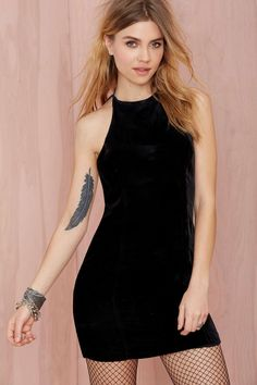 Nasty Gal Velvet Underground Dress | Shop Sale at Nasty Gal